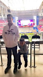 Scott attended Playstation Fiesta Bowl - Louisiana State University vs. University of Central Florida on Jan 1st 2019 via VetTix