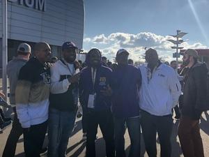 Alandre Bass attended Playstation Fiesta Bowl - Louisiana State University vs. University of Central Florida on Jan 1st 2019 via VetTix