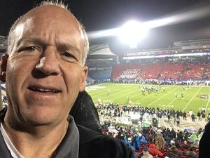 Larry (Sean) attended Dxl Frisco Bowl - San Diego State University vs. Ohio University on Dec 19th 2018 via VetTix