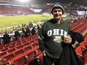 Randall attended Dxl Frisco Bowl - San Diego State University vs. Ohio University on Dec 19th 2018 via VetTix