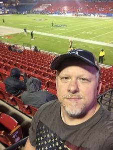 Tim attended Dxl Frisco Bowl - San Diego State University vs. Ohio University on Dec 19th 2018 via VetTix
