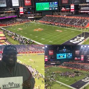 John Graves attended Cheez-it Bowl - California Golden Bears vs. TCU Horned Frogs on Dec 26th 2018 via VetTix