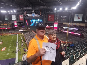 Edward attended Cheez-it Bowl - California Golden Bears vs. TCU Horned Frogs on Dec 26th 2018 via VetTix