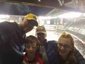 Scott attended Cheez-it Bowl - California Golden Bears vs. TCU Horned Frogs on Dec 26th 2018 via VetTix
