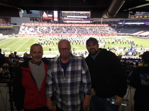William attended Cheez-it Bowl - California Golden Bears vs. TCU Horned Frogs on Dec 26th 2018 via VetTix