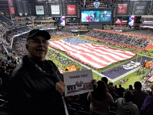 John V attended Cheez-it Bowl - California Golden Bears vs. TCU Horned Frogs on Dec 26th 2018 via VetTix