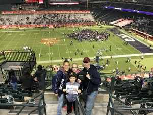 Click To Read More Feedback from Cheez-it Bowl - California Golden Bears vs. TCU Horned Frogs