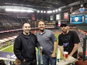 Bradley attended Cheez-it Bowl - California Golden Bears vs. TCU Horned Frogs on Dec 26th 2018 via VetTix