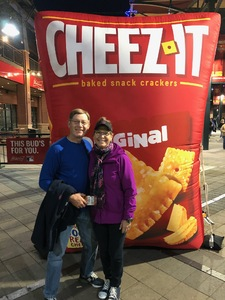 Jay attended Cheez-it Bowl - California Golden Bears vs. TCU Horned Frogs on Dec 26th 2018 via VetTix