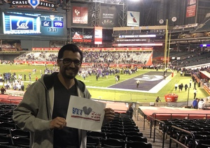 pedro attended Cheez-it Bowl - California Golden Bears vs. TCU Horned Frogs on Dec 26th 2018 via VetTix