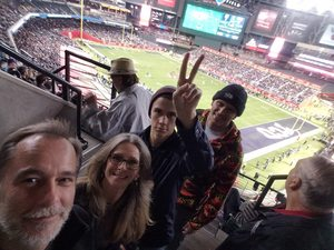 David attended Cheez-it Bowl - California Golden Bears vs. TCU Horned Frogs on Dec 26th 2018 via VetTix