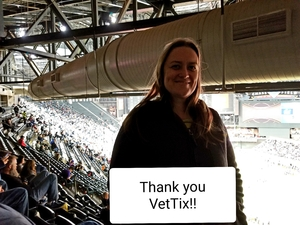 Lindsay attended Cheez-it Bowl - California Golden Bears vs. TCU Horned Frogs on Dec 26th 2018 via VetTix