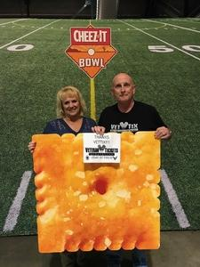 Robert attended Cheez-it Bowl - California Golden Bears vs. TCU Horned Frogs on Dec 26th 2018 via VetTix