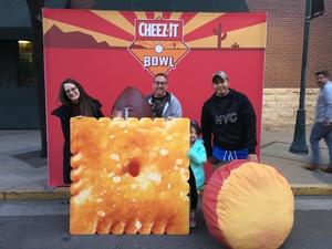 Jesus attended Cheez-it Bowl - California Golden Bears vs. TCU Horned Frogs on Dec 26th 2018 via VetTix