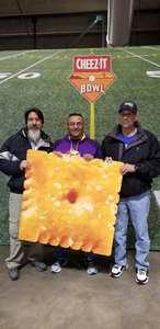 Enrique Duarte attended Cheez-it Bowl - California Golden Bears vs. TCU Horned Frogs on Dec 26th 2018 via VetTix