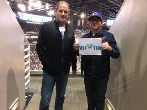 Brandon attended Cheez-it Bowl - California Golden Bears vs. TCU Horned Frogs on Dec 26th 2018 via VetTix