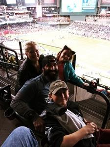 Joshua attended Cheez-it Bowl - California Golden Bears vs. TCU Horned Frogs on Dec 26th 2018 via VetTix