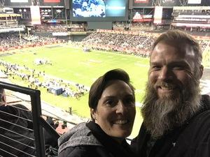 Ryan attended Cheez-it Bowl - California Golden Bears vs. TCU Horned Frogs on Dec 26th 2018 via VetTix