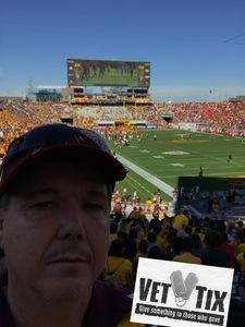 Glenn attended Cheez-it Bowl - California Golden Bears vs. TCU Horned Frogs on Dec 26th 2018 via VetTix