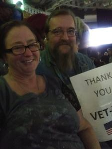 William attended Red Rock Productions Presents: STYX With Special Guest Anne Wilson of Heart Resch Center Complex 2018-2019 on Dec 29th 2018 via VetTix