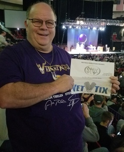 Bruce attended Red Rock Productions Presents: STYX With Special Guest Anne Wilson of Heart Resch Center Complex 2018-2019 on Dec 29th 2018 via VetTix
