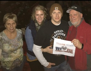 Kevin attended Red Rock Productions Presents: STYX With Special Guest Anne Wilson of Heart Resch Center Complex 2018-2019 on Dec 29th 2018 via VetTix