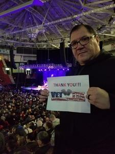 Leonard attended Red Rock Productions Presents: STYX With Special Guest Anne Wilson of Heart Resch Center Complex 2018-2019 on Dec 29th 2018 via VetTix