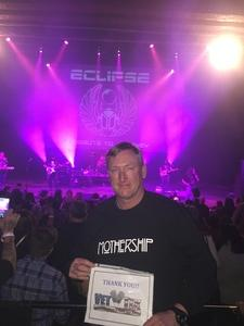 Paul attended Eclipse - a Tribute to Journey - Undefined on Jan 12th 2019 via VetTix
