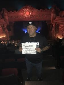 Mark attended Eclipse - a Tribute to Journey - Undefined on Jan 12th 2019 via VetTix