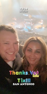 Holly Jamison attended Eclipse - a Tribute to Journey - Undefined on Jan 12th 2019 via VetTix