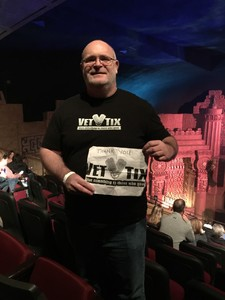 Jeffery attended Eclipse - a Tribute to Journey - Undefined on Jan 12th 2019 via VetTix