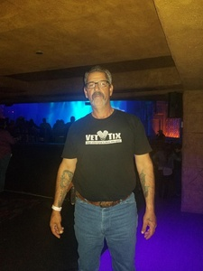 Frank attended Eclipse - a Tribute to Journey - Undefined on Jan 12th 2019 via VetTix