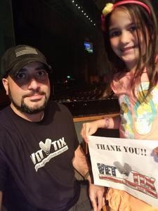 Keith attended Eclipse - a Tribute to Journey - Undefined on Jan 12th 2019 via VetTix