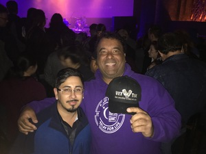 eric attended Eclipse - a Tribute to Journey - Undefined on Jan 12th 2019 via VetTix