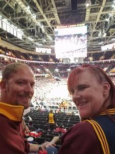 chris attended Cleveland Cavaliers vs. Milwaukee Bucks - NBA on Dec 14th 2018 via VetTix