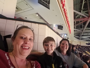 Tracy attended Cleveland Cavaliers vs. Milwaukee Bucks - NBA on Dec 14th 2018 via VetTix