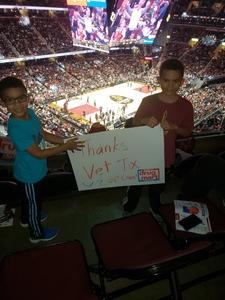 Christopher attended Cleveland Cavaliers vs. Milwaukee Bucks - NBA on Dec 14th 2018 via VetTix