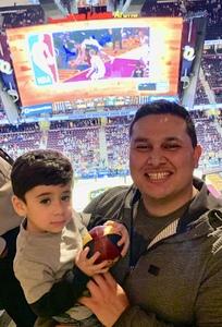Phil Mendez attended Cleveland Cavaliers vs. Milwaukee Bucks - NBA on Dec 14th 2018 via VetTix