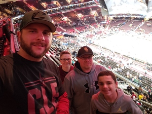 Nathan attended Cleveland Cavaliers vs. Milwaukee Bucks - NBA on Dec 14th 2018 via VetTix