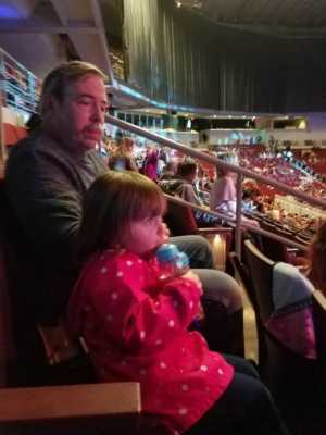 Frank attended Disney on Ice Presents: Dare to Dream on Apr 18th 2019 via VetTix
