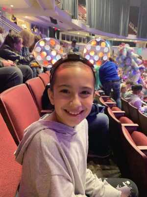 Ramzi attended Disney on Ice Presents: Dare to Dream on Apr 18th 2019 via VetTix
