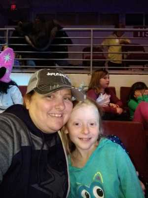 Mindy attended Disney on Ice Presents: Dare to Dream on Apr 18th 2019 via VetTix