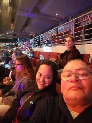 Arnold attended Disney on Ice Presents: Dare to Dream on Apr 18th 2019 via VetTix