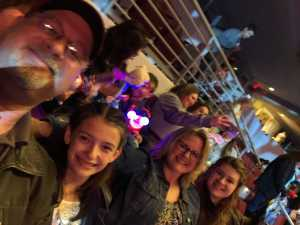 Shane attended Disney on Ice Presents: Dare to Dream on Apr 18th 2019 via VetTix