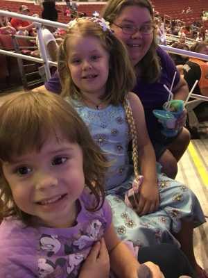 Virginia  attended Disney on Ice Presents: Dare to Dream on Apr 18th 2019 via VetTix