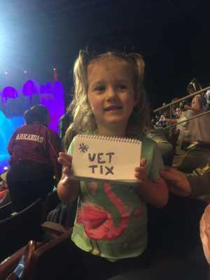 Suzanne Wilsey attended Disney on Ice Presents: Dare to Dream on Apr 18th 2019 via VetTix