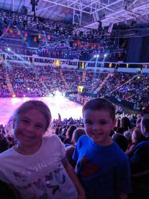 Terry attended Disney on Ice Presents: Dare to Dream on Apr 18th 2019 via VetTix