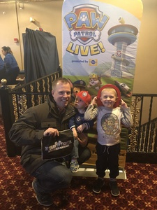 Click To Read More Feedback from PAW Patrol Live!: Race to the Rescue - Presented by Vstar Entertainment - 2:00PM