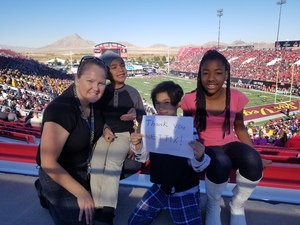 Click To Read More Feedback from Mitsubishi Motors Las Vegas Bowl - Arizona State vs. Fresno State