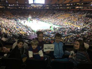 Greg attended Harlem Globetrotters on Dec 26th 2018 via VetTix